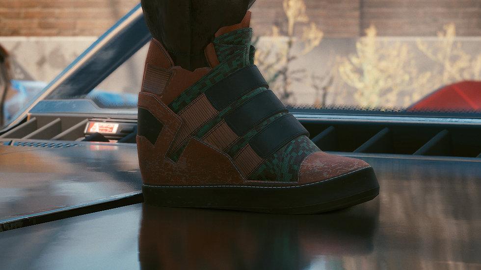 Aramid-Lined Street Shoes
