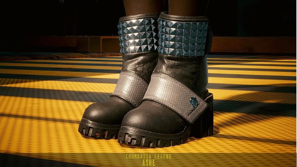 Reinforced Uniware Platform Boots