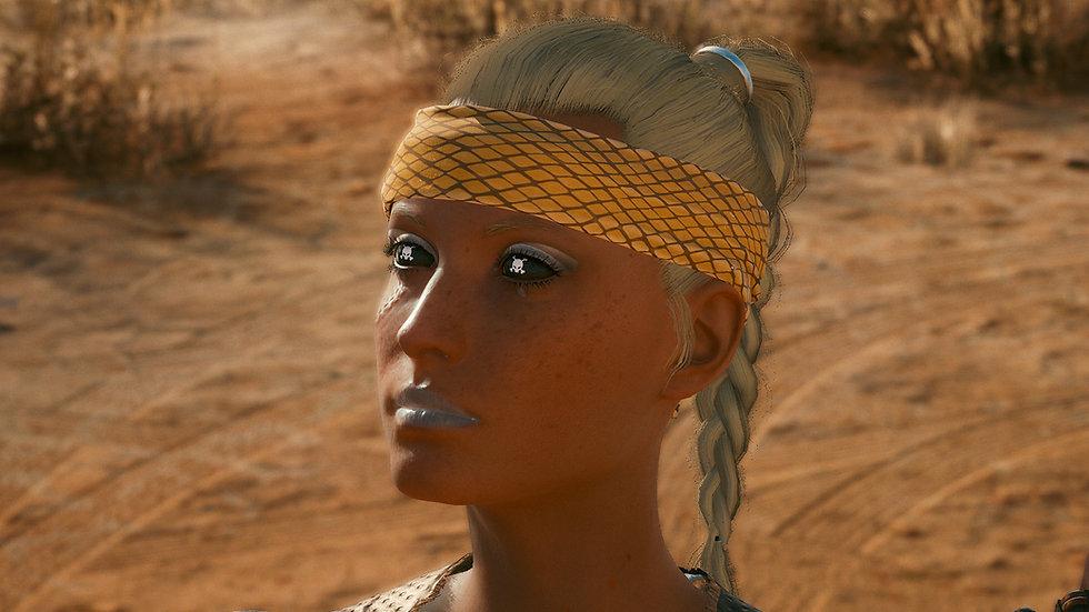 Sandy Boa Shock-Absorbent Headband