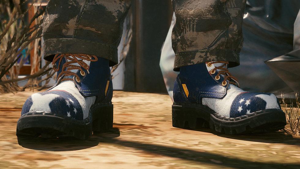 Heavy Duty New Murica Combat Boots