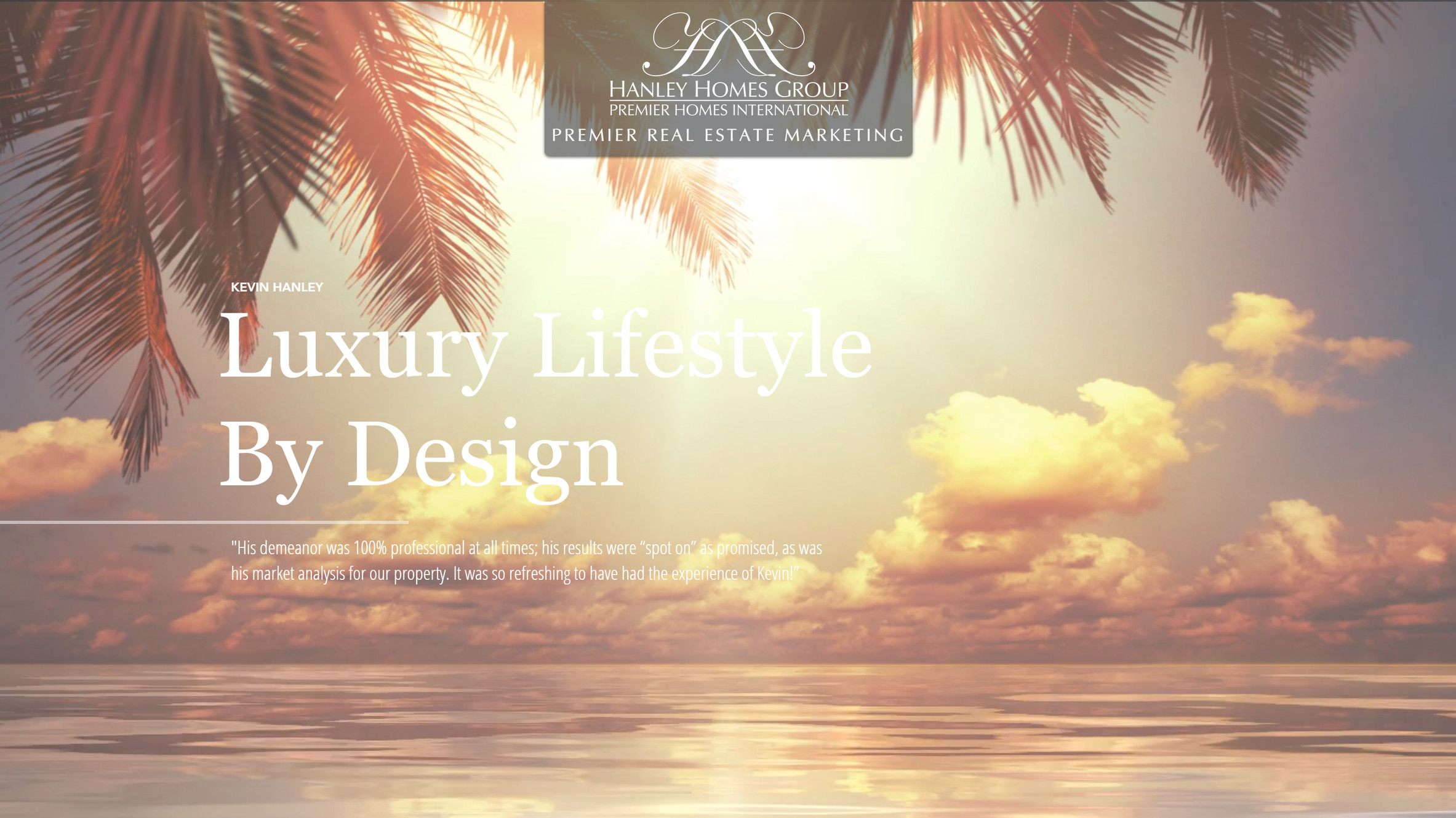 Luxury Real Estate | United States | The Hanley Homes Group