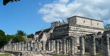 OBIEKTY ARCHITEKTONICZN W CHICHEN ITZA ,MEKSYK ,PÓŁWYSEP YUCATAN