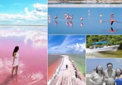 rezerwat flamingów-turkusowymeksyk