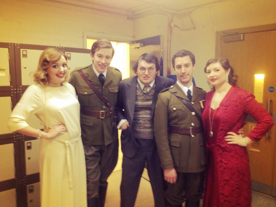Backstage at the RCM