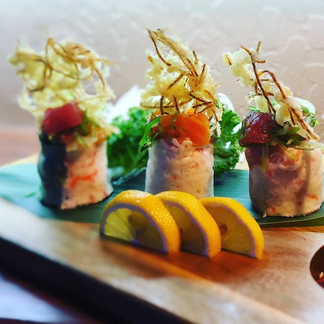 "Introducing the ""Poké Spring Roll"" for o"