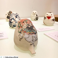 Shibukusa 7th tattoo birds ceramics