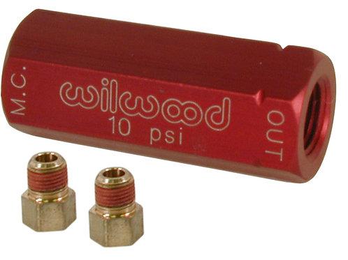 WILWOOD Residual Pressure Valve 10LBS