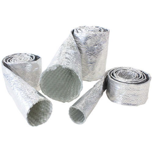 "AEROFLOW Aluminised Heat Sleeve 5/8"" to 1"""