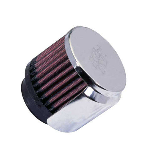 """K&N Clamp-On Vent Filter 1-3/4"""""""