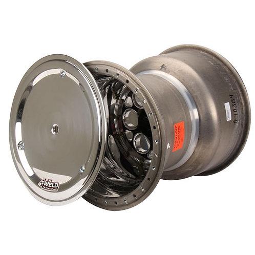 "WELD Sprintcar Rear Wheel 15""X 17"" Offset 7"" Black"