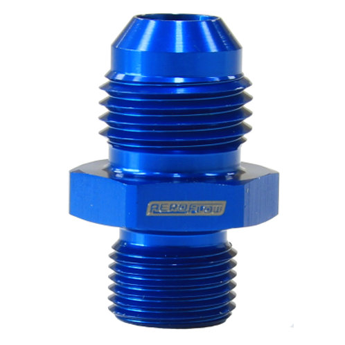 AEROFLOW Male Flare Adapter M12 x 1.0mm to -6AN
