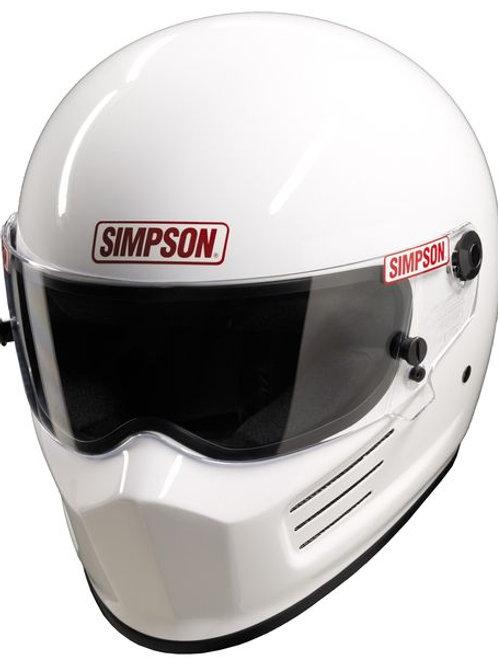 SIMPSON Bandit Helmet White Size XS