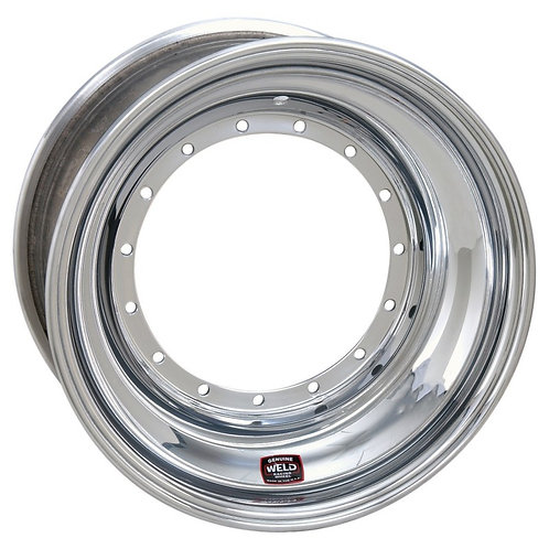 "WELD Sprintcar Front Wheel 15""X 8"" Offset 4"" Beadlock With Cover"