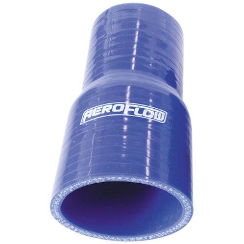 "AEROFLOW Straight Silicone Hose Reducer 4"" - 3"""