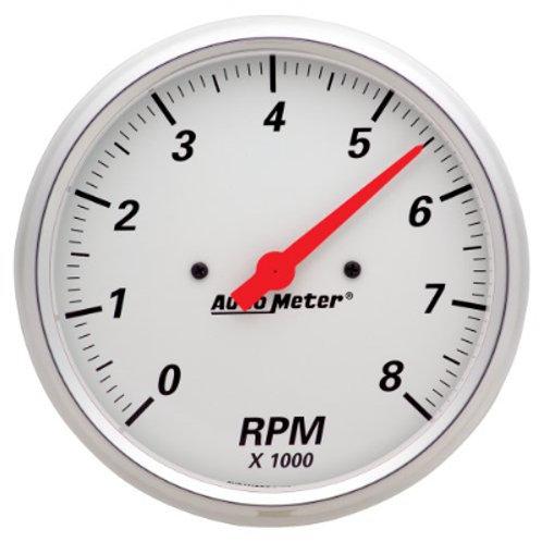 AUTOMETER Arctic White Tachometer