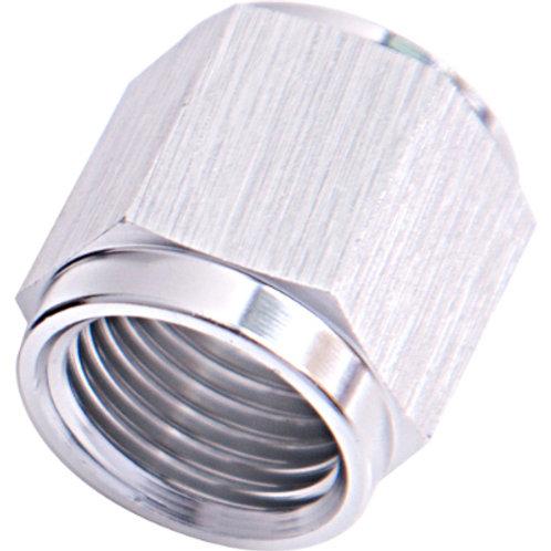 """AEROFLOW -4AN Aluminium Tube Nut to 1/4"""" Tube"""
