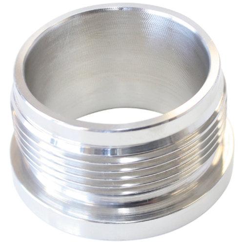 "AEROFLOW 2"" Stainless Steel Weld-On Neck"