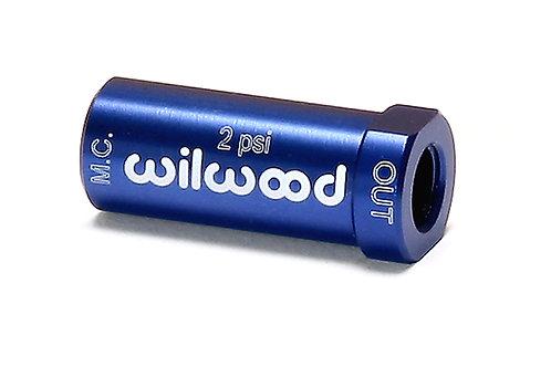 WILWOOD Residual Pressure Valve 2LBS