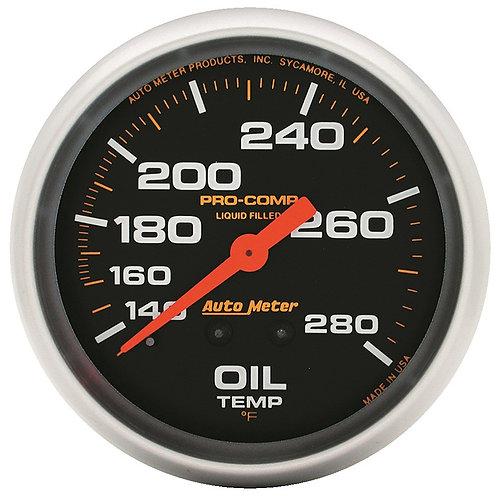AUTOMETER Pro-Comp Series Oil Temperature Gauge