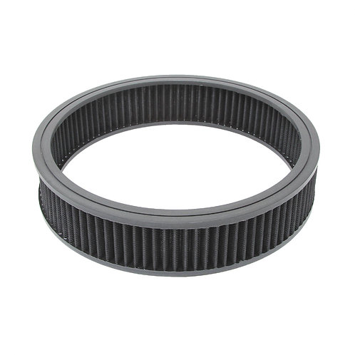 """RPC 14"""" Round Black Washable Filter Element"""