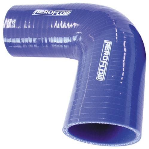 "AEROFLOW 90 Deg Silicone Hose Reducer 2"" - 1-1/2"""