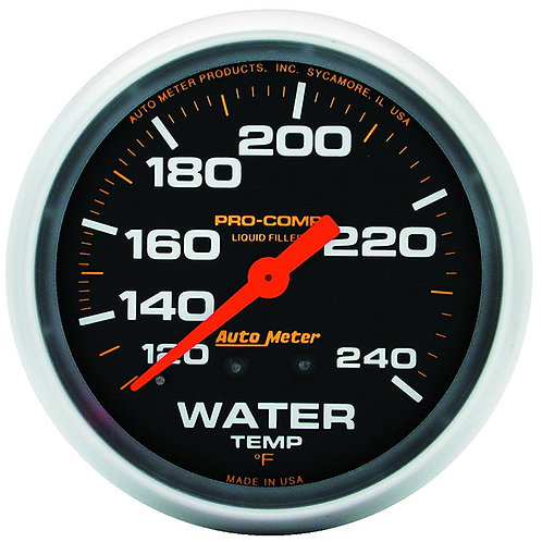 AUTOMETER Pro-Comp Series Water Temperature Gauge