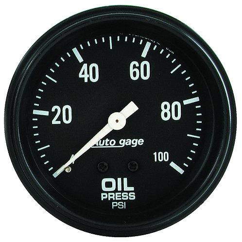AUTOMETER Auto gage Series Oil Pressure Gauge
