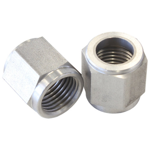"AEROFLOW -4AN Stainless Steel Tube Nut to 1/4"" Tube"
