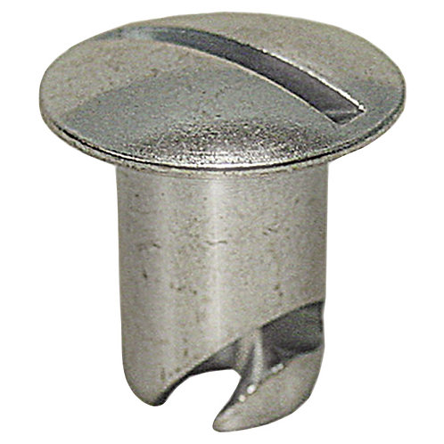 "PanelFast 7/16"" Oval Head Steel Button With .400 Grip"