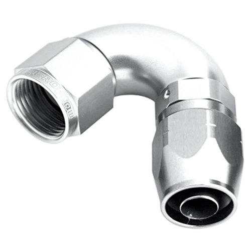 AEROFLOW Full Flow Swivel 120 Deg Hose End -12AN
