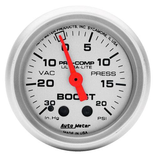 AUTOMETER Ultra-Lite Series Boost/Vacuum Gauge