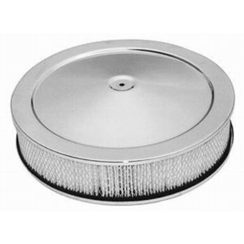 """RPC 14"""" x 3"""" Air Cleaner with Flat Base"""