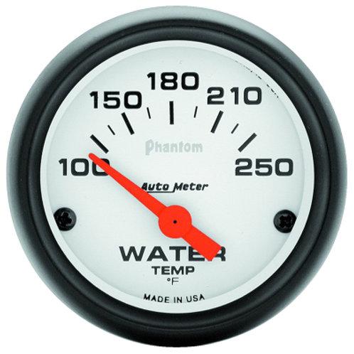 AUTOMETER Phantom Series Water Temperature Gauge