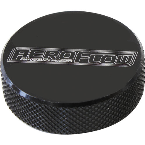 AEROFLOW Black Billet Air Cleaner Nut
