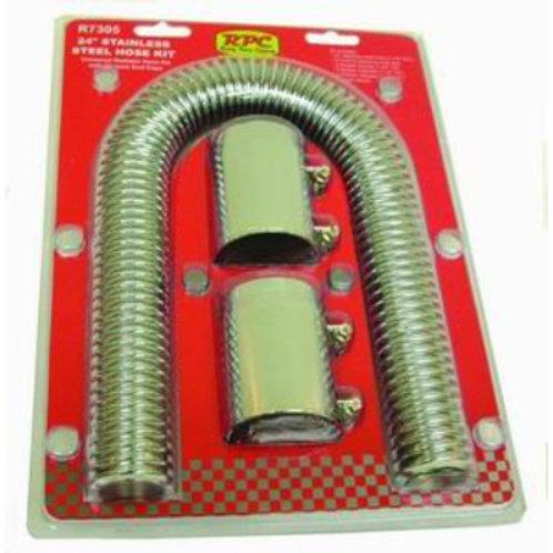 RPC Stainless Steel Radiator Hose Kit