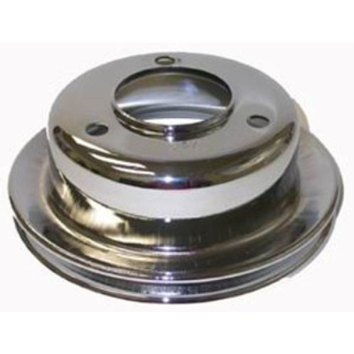 RPC Ford Chrome Steel Crankshaft Lower Pulley
