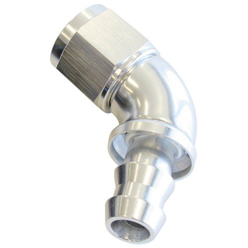 AEROFLOW Full Flow Push Lock 60 Deg Hose End -8AN