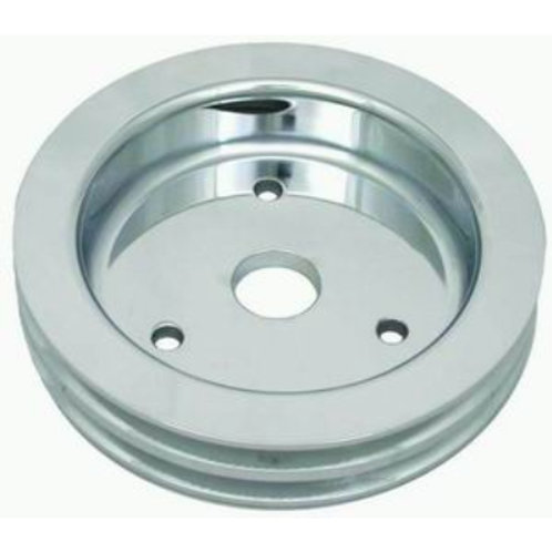 RPC BBC Polished Aluminium Crankshaft Lower Pulley