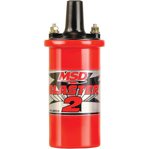 MSD Ignition Canister Coil Blaster 2 Series With Ballast Resistor