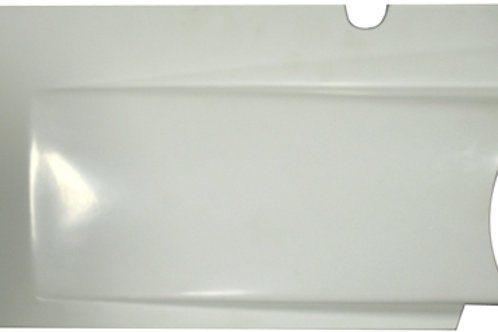 TRIPLE X Sprintcar Fiberglass Left Side Upper Kick Panel