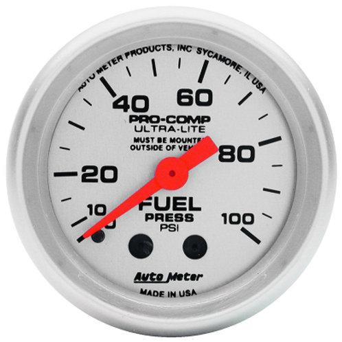 AUTOMETER Ultra-Lite Series Fuel Pressure Gauge