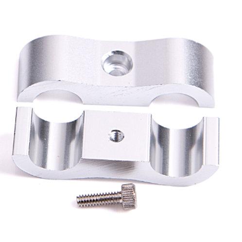 "AEROFLOW Billet Aluminium Dual Hose Separators 1-5/16"""