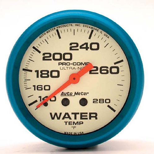 AUTOMETER Ultra-Nite Series Water Temperature Gauge