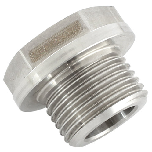 AEROFLOW Stainless Steel Screw-In O2 Sensor Plug
