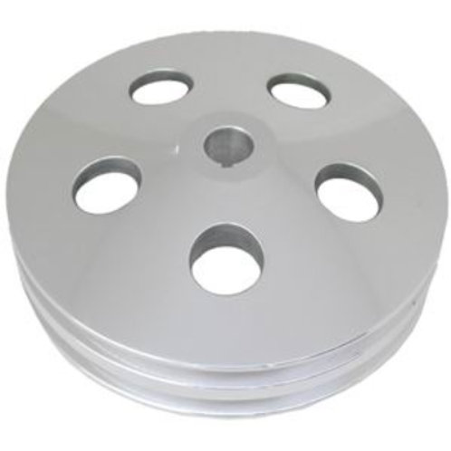 RPC Polished Aluminium Power Steering Pump Pulley