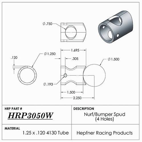 HRP Sprintcar Nerf & Bumper Spud