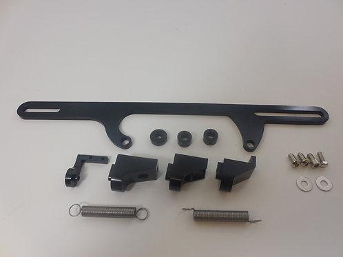RPC Dominator Throttle Cable Bracket Black