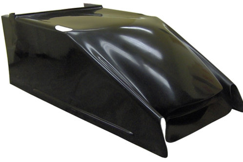 TRIPLE X Sprintcar Fiberglass Hood Clean Air design