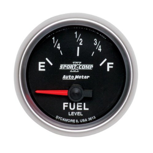 AUTOMETER Sport-Comp II Fuel Level Gauge