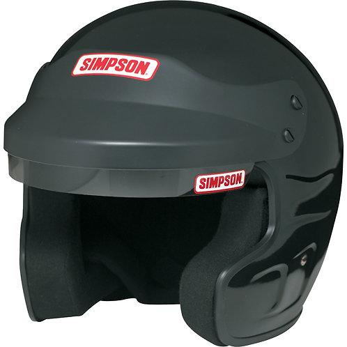 SIMPSON FR Cruiser Helmet Black Size L